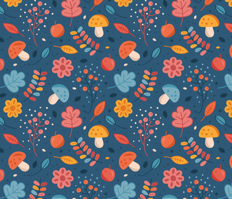 Automne fabric by la_fabriken on Spoonflower - custom fabric