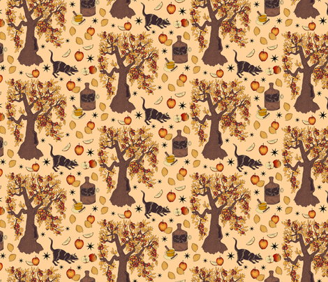 Cider Season fabric by roguerens on Spoonflower - custom fabric