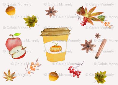 Pumpkin Spice-Rustic Fall