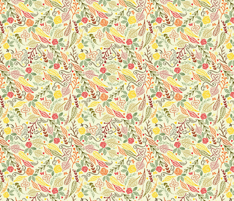 Rustic Fall fabric by michelle_price_designs on Spoonflower - custom fabric