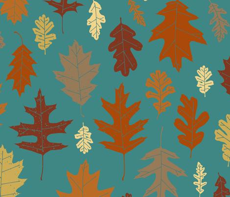 Leaf Peeping fabric by jenimp on Spoonflower - custom fabric