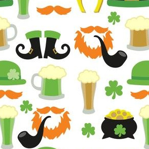 Saint Patrick's Day, Pattern