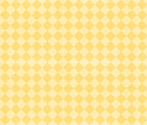 harlequin two tone yellow fabric by designed_by_debby on Spoonflower - custom fabric