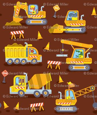 Construction Trucks (brown)