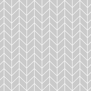 grey chevron fabric