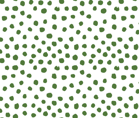 green dots fabric fabric by charlottewinter on Spoonflower - custom fabric