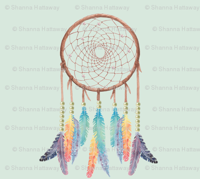 Gypsy Dreamcatcher on Mint
