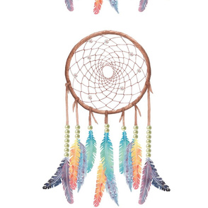 Gypsy Dreamcatcher on White