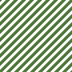 stripes fabric - dark green