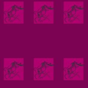 Ampersand_love_hound_For-collars-plum/rose