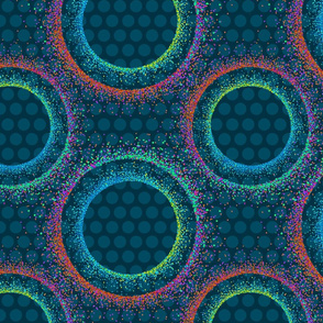 Mod Dots Pointillism