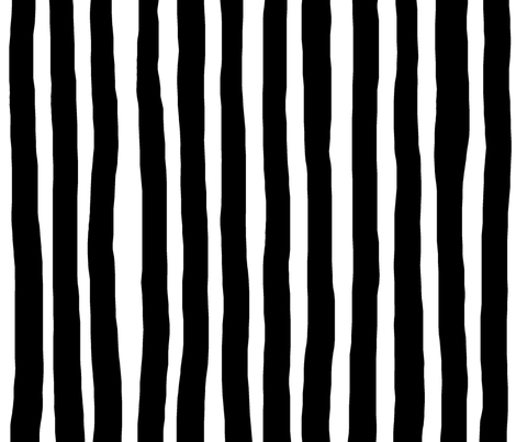 Marker Stripes (Vertical) XXLarge fabric by leanne on Spoonflower - custom fabric