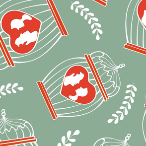 Cages and hearts