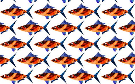 Fish fabric by barbarapritchard on Spoonflower - custom fabric