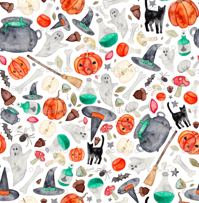 Halloween Autumn Pattern