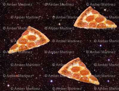 Sewoeno 39 s shop on spoonflower fabric wallpaper and gift wrap for Space pizza fabric