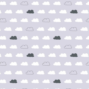 Cloud Coordinate Lavendar
