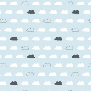 Cloud Coordinate Baby Blue