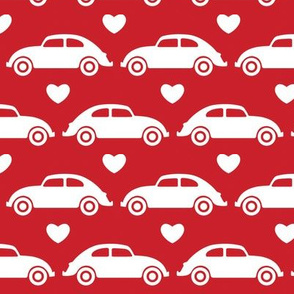 VW Beetle Love - Red