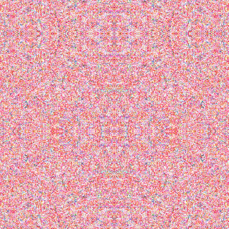 Pointillism in Pink fabric by anniedeb on Spoonflower - custom fabric