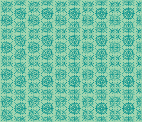 Confetti Bursts (Sea Foam and Teal) fabric by brendazapotosky on Spoonflower - custom fabric