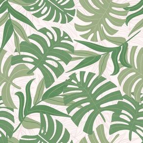 Botanicals - Green on light