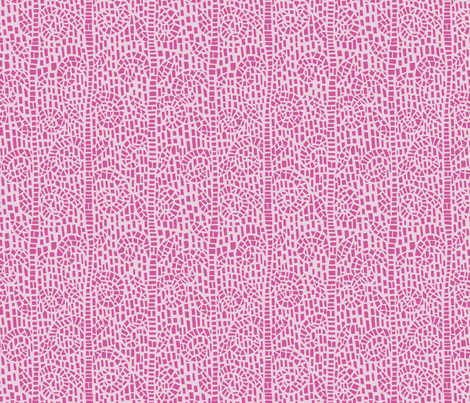 Grow - Pink fabric by clarekettering on Spoonflower - custom fabric