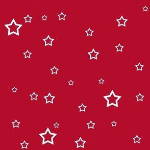 Upright Stars - Red