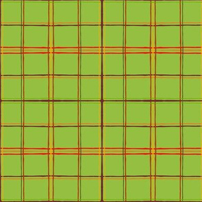 Fall Faves - Green plaid