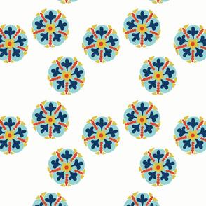 Medallion Flor