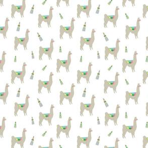 Llama loves Tassels
