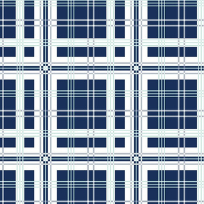 Copenhagen Blue Tartan Custom for Lori