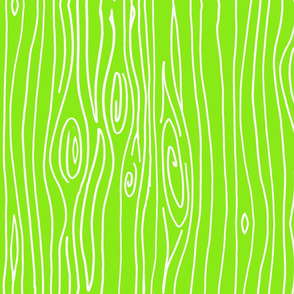 Wonky Woodgrain - Lime
