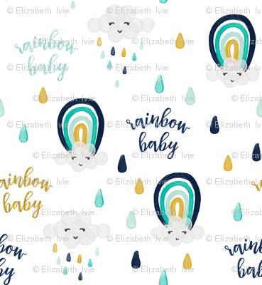 rainbow baby // medium