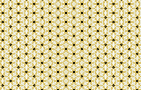 Black-Eyed Susan by Friztin fabric by friztin on Spoonflower - custom fabric