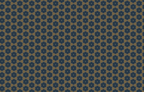 Fall Floral by Friztin fabric by friztin on Spoonflower - custom fabric