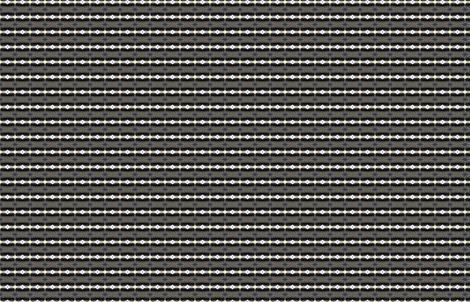 Geo Flower Stripes by Friztin fabric by friztin on Spoonflower - custom fabric
