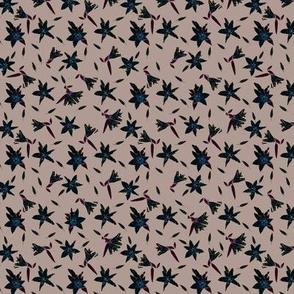 Stargazers Khaki Upholstery Fabric