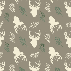 Deer_And_Tree_Repeat_Brown