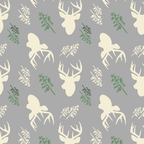 Deer_And_Tree_Repeat_Grey