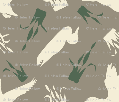 Duck_and_Grass_Repeat_Brown