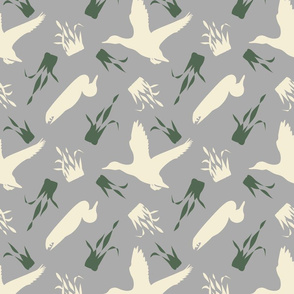 Duck_and_Grass_Repeat_Grey