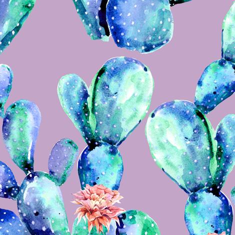 "21"" Kalahari Evenings - Lilac fabric by shopcabin on Spoonflower - custom fabric"