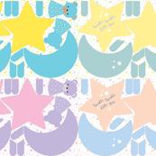 Plushie - Stars Moon - Sampler