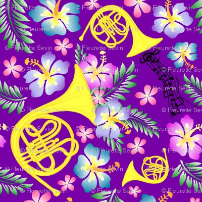 Royal Purple Horn