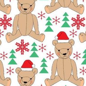 brown christmas teddy bears
