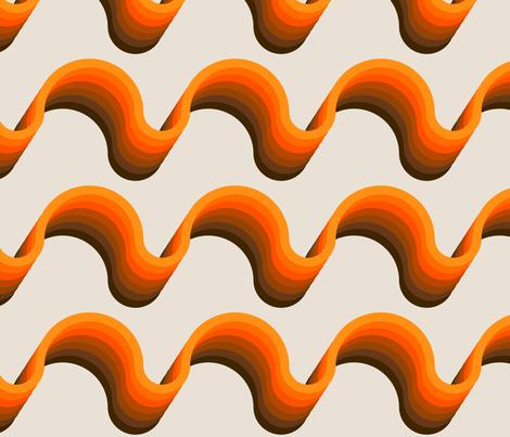 Ribbon // Golden fabric by circa78designs on Spoonflower - custom fabric