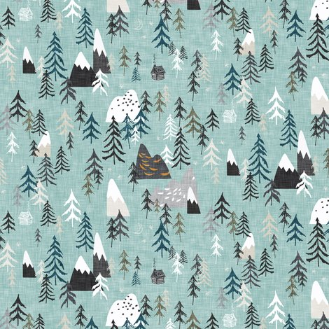Rrforest_mountain_linen_x2_wide_iceblue_shop_preview