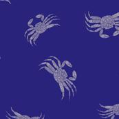Hawaiian Tide Pools-Shibori A'ama Rock Crab