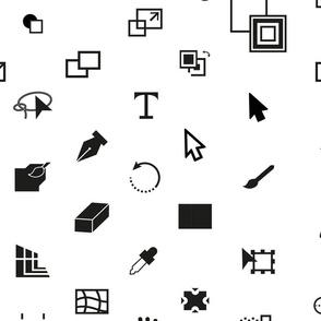 Illustrator icon set
